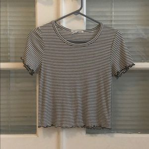 Black and white striped shirt from Nordstrom